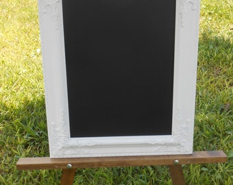 White Ornate Framed Chalkboard - Wedding Chalkboard -Vintage Ornate Framed Chalkboard- - Ornate Framed Chalkboard-Vintage Framed Chalkboard