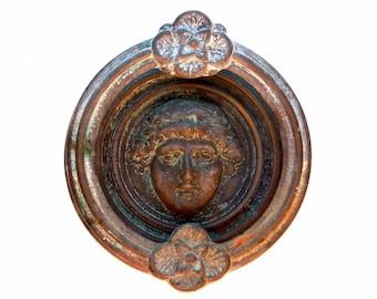 Antique Neoclassical Greco Roman Door Knocer