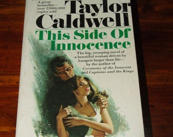 Vintage 1970's Romance Novel This Side of Innocence Paperback 1977