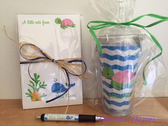 Items similar to Ocean theme teacher gifts Ocean Theme ... - photo#14