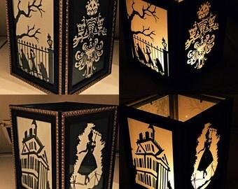 Haunted Mansion Inspired Lantern