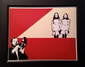 "Stanley Kubrick ""The Shining"" Art Print The Shining Twins"
