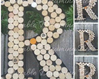 save 1000 metal wine cork holder initial wall art personalized letter r ready to ship wedding engagement birthday gift