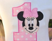 Minnie Mouse shirt peronalizd
