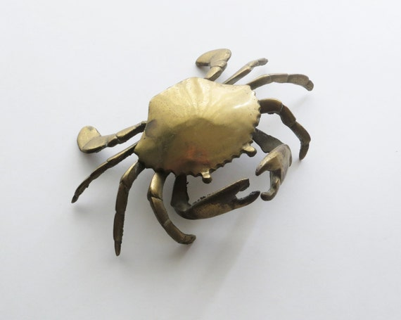 Xena Crabs 80s Brass Crab ...