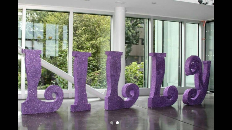 Free Standing Letters Extra Large Styrofoam By Designsbydazey