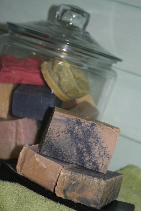 Olive Myrrh & Activated Charcoal Soap Organic 5.5 oz