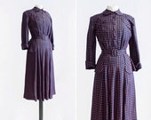 40s Evelyn Dress  •  1940s day dress