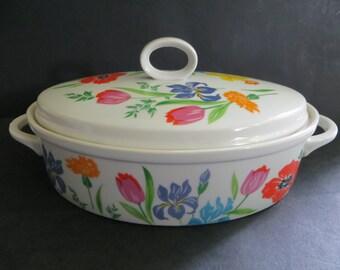 Vintage Taste Setter Primavera Casserole