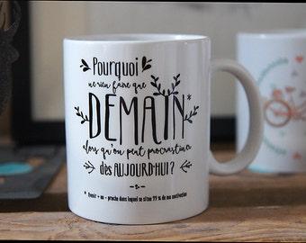 The mug I do nothing but I'm doing well (procrastination)