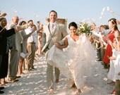 Wedding Programs with Ribbon Wands - Deposit