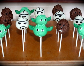 Star Wars Themed Cake Pops