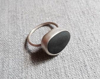 Hamptons Beach Stone Ring