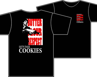 Let's Talk Cookies Scarbake Color T-Shirt