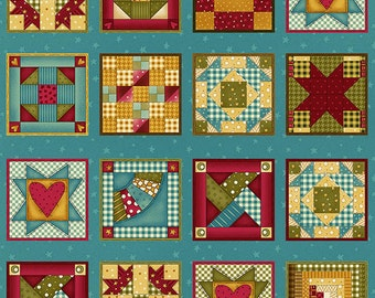 """1 yard, 20"""" Build Each Other Up by Leanne Anderson for Henry Glass & Co. 83557 66"""