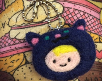 Susan Strong needle felted charm
