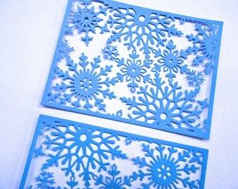 Snowflake Frame set of 6 Cardstock Die Cuts