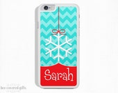 iPhone 5c Case, iPhone 6s Case, iPhone 6s Plus Case, iPhone 5 Case, Snowflake, Christmas Phone Case, Stocking Stuffer (067)