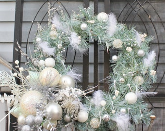 Snow and Ice Wreath