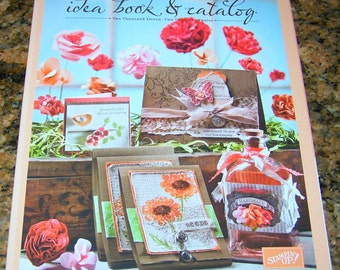 Stampin' Up Idea Book Catalog 2011-2012  - New