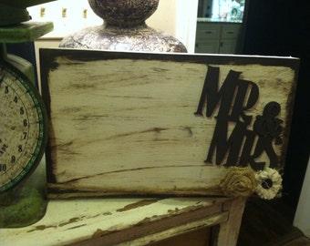 Distressed Mr. & Mrs. Frame