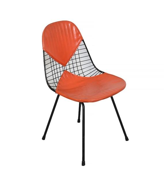 eames wire chair herman miller venice ca original orange bikini seat