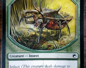 3D Magic the Gathering Insect Token