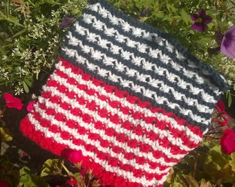 Fourth of July Dishcloth