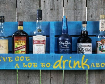 Parrothead Rum Shelf