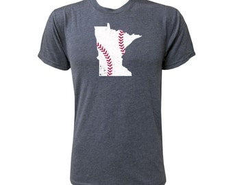 Minnesota Baseball (White/Red) - NLA Vintage Navy