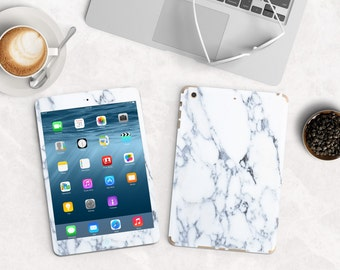 Bianco Sivec White Marble Vinyl Skin for the iPad Air 2, iPad mini , Kindle All Models , Surface Pro and RT