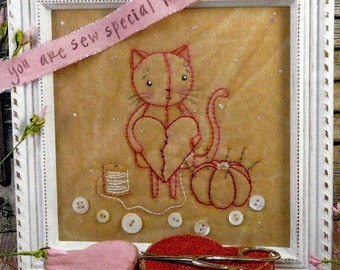 Embroidery Pattern - You Are Sew Special To Me
