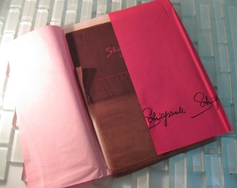 1950s PINUP Stockings Schiaparelli Coffee Bean Nude 9 1/2 ITALY - 3 Available