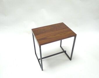 Side Table   Solid Walnut