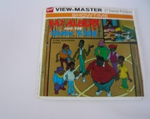 Vintage GAF View Master Stereo Picture Reels FAT ALBERT And The Cosby Kids B554 1972