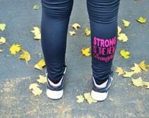 Custom Compression Tights - Running Leggings - Crossfit Tights - Softball Apparel - Volleyball Spandex