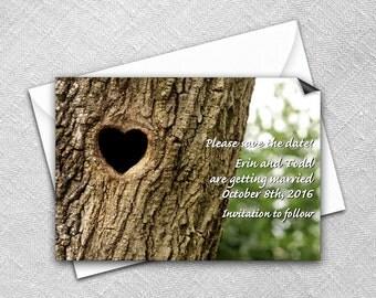 Save the Date Magnet + Envelope - Wedding magnets - Everlasting Design
