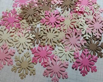 Die Cut Snowflakes.   #T-50