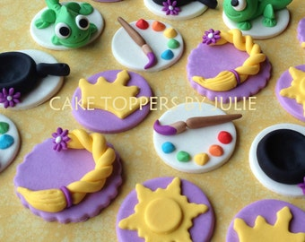 12 Tangled Inspired Toppers