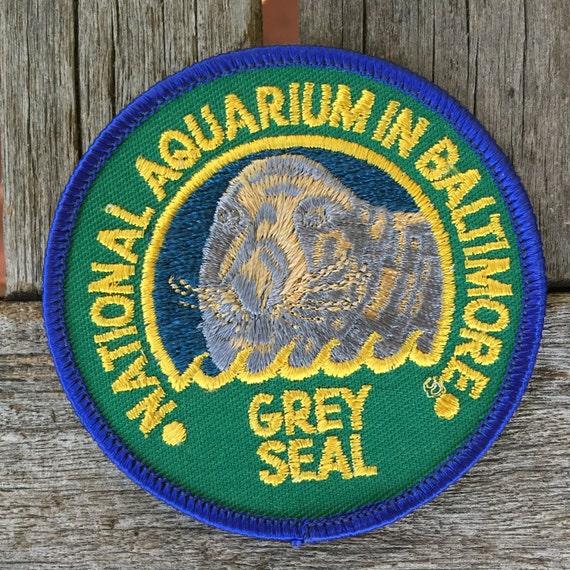 Baltimore maryland national aquarium grey seal souvenir travel for Fish store baltimore
