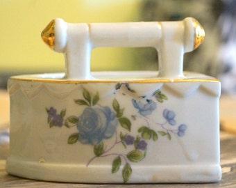 Vintage Ceramic Iron