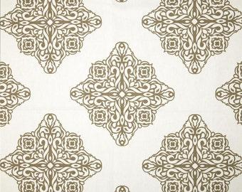 Pair of 25 wide Premier print Zapp chevron curtains