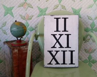Personalized Roman Numeral Wedding Date Sign / Anniversary Sign / Wedding Gift / Wedding Decor / Special Date Sign