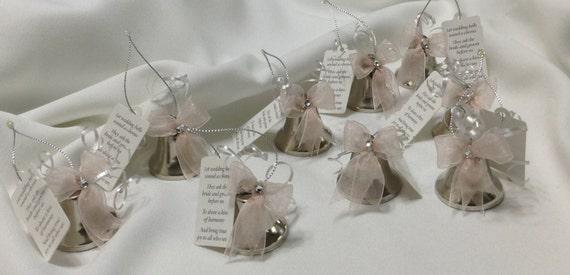 Wedding Bell Favors Kissing Bells Wedding Shower Favors