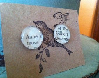 Anne and Gilbert studs