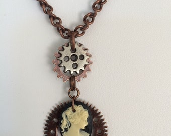 Simply Steampunk Necklace #1