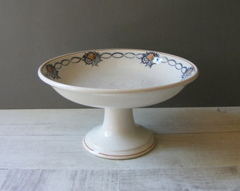 French Antique  Cake Stand,Shabby Style,by saint AMAND.