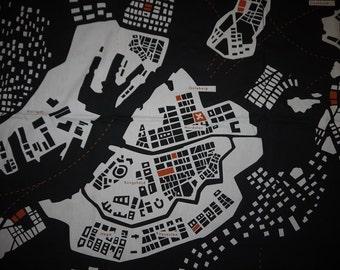 Fabric - By Serholt - Sweden- Stockholm - Gotheborg - Wall Decor -