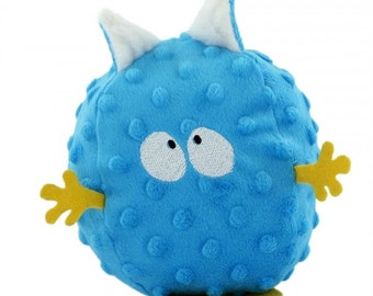 Chicken pox blue deco doudou