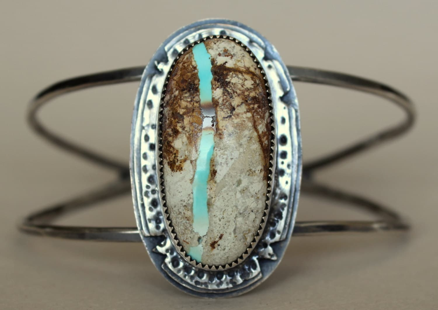 Turquoise Sterling Cuff Bracelet Royston Turquoise Bracelect